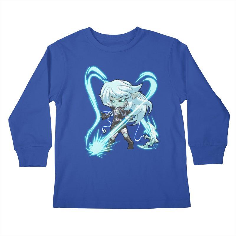 Chibi Series 1: Frostweaver Kids Longsleeve T-Shirt by Shirts by Noc