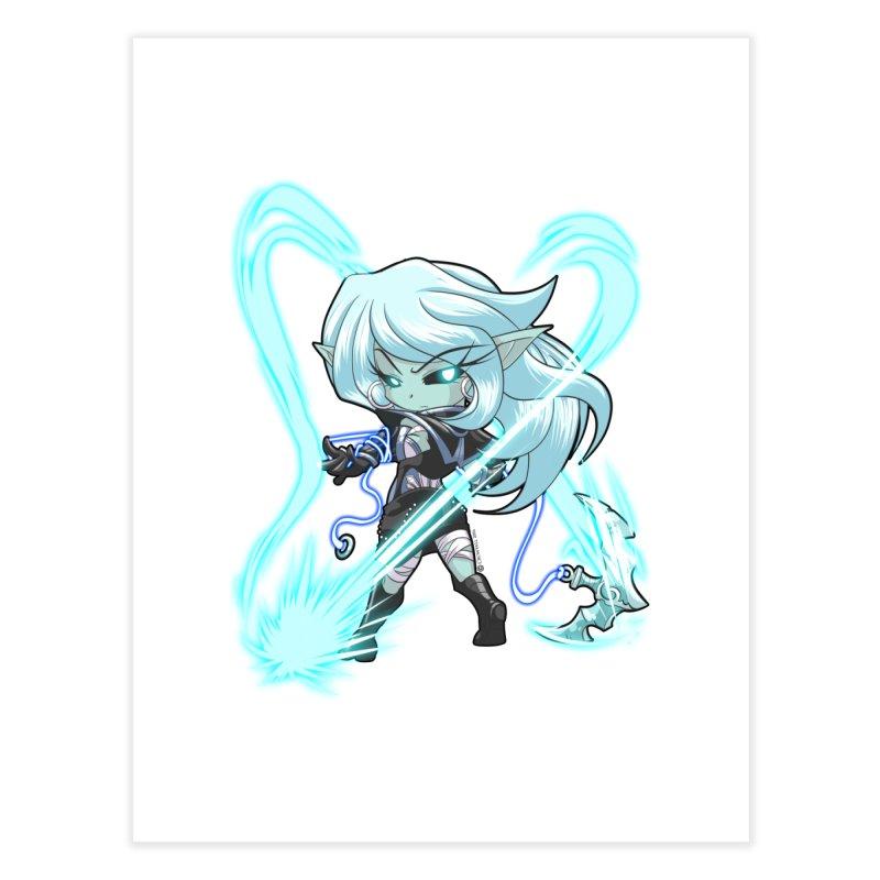 Chibi Series 1: Frostweaver Home Fine Art Print by Shirts by Noc