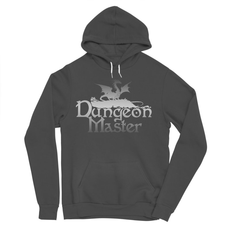 Dungeon Master Men's Sponge Fleece Pullover Hoody by Shirts by Noc