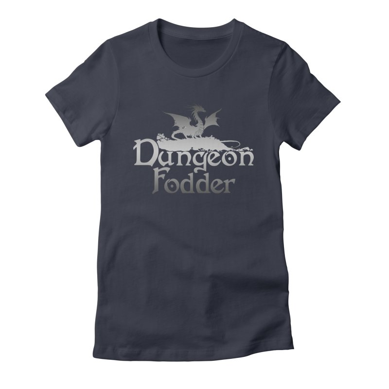 Dungeon Fodder Women's Fitted T-Shirt by Shirts by Noc
