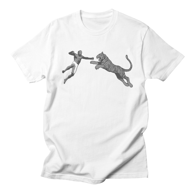 Tiger Punch! Men's Regular T-Shirt by Shirts by Noc