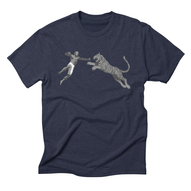Tiger Punch! Men's Triblend T-Shirt by Shirts by Noc