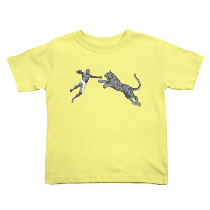 Tiger Punch! Kids Toddler T-Shirt by Shirts by Noc