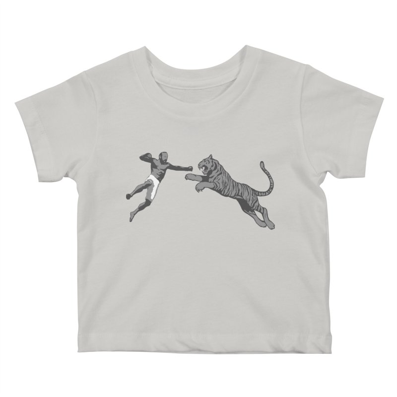 Tiger Punch! Kids Baby T-Shirt by Shirts by Noc