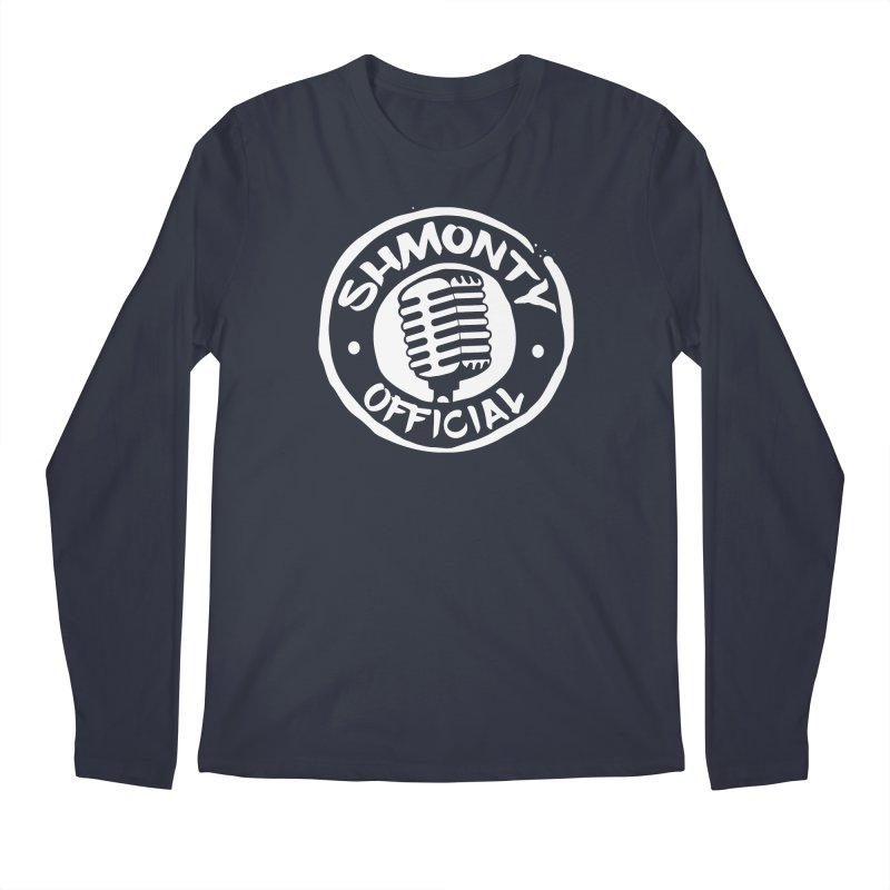 Shmonty Official Light Logo Men's Longsleeve T-Shirt by Shmonty Official Gear