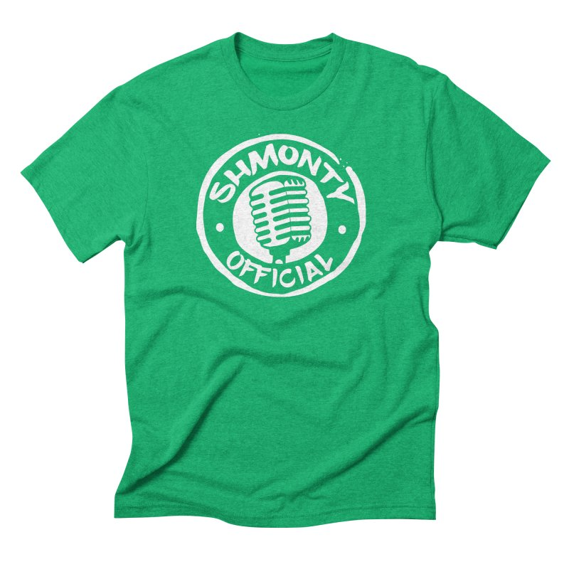 Shmonty Official Light Logo Men's Triblend T-Shirt by Shmonty Official Gear