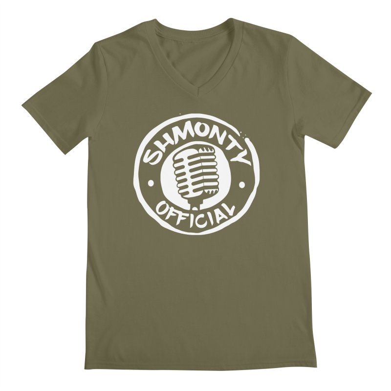 Shmonty Official Light Logo Men's Regular V-Neck by Shmonty Official Gear