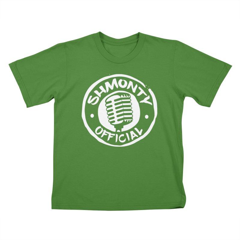 Shmonty Official Light Logo Kids T-Shirt by Shmonty Official Gear