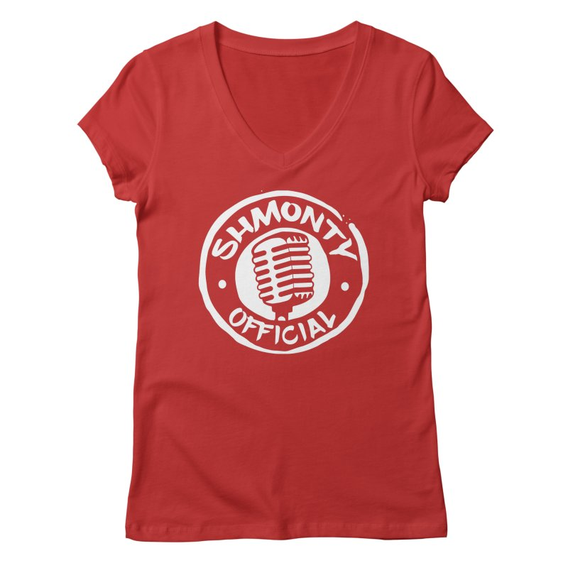 Shmonty Official Light Logo Women's Regular V-Neck by Shmonty Official Gear