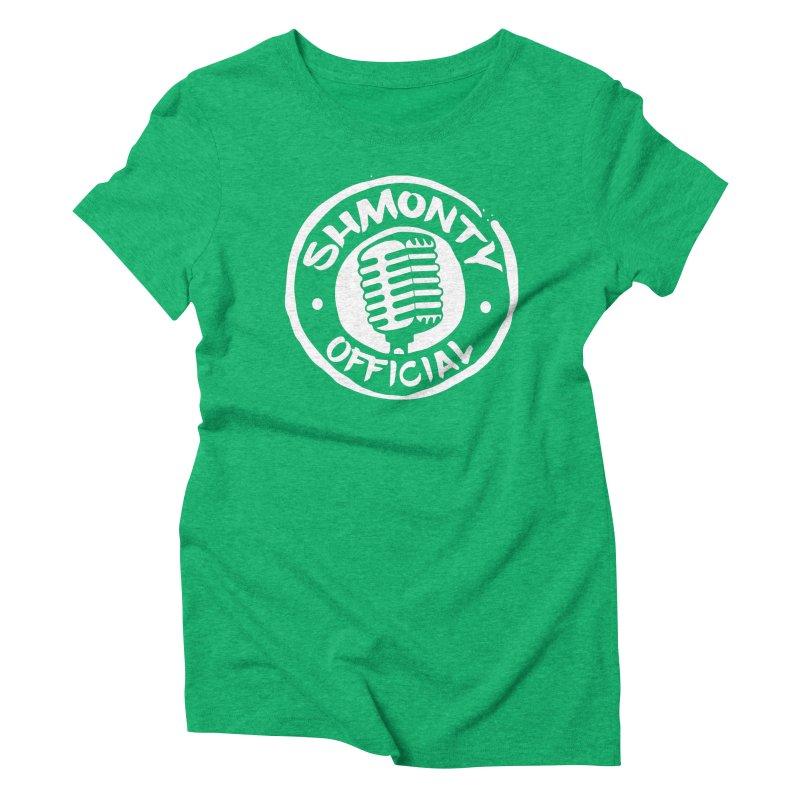Shmonty Official Light Logo Women's Triblend T-Shirt by Shmonty Official Gear