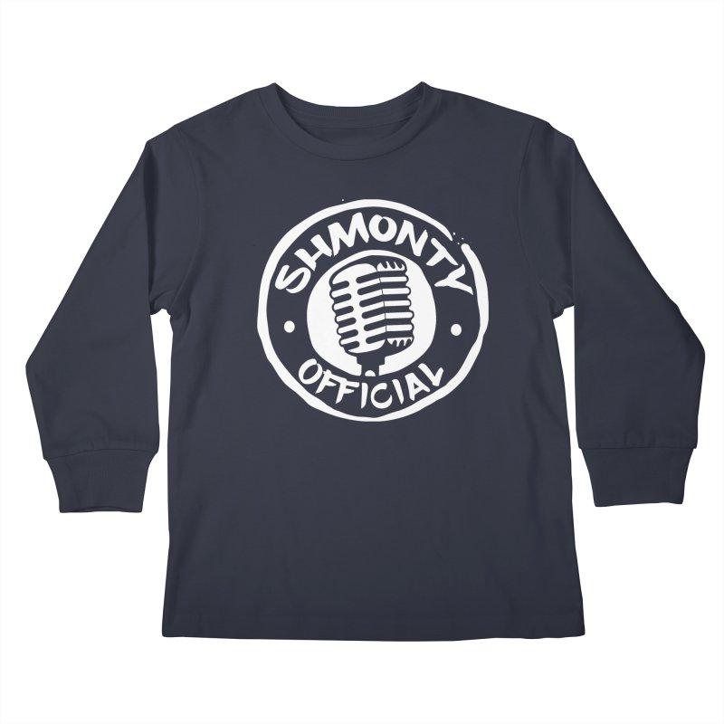 Shmonty Official Light Logo Kids Longsleeve T-Shirt by Shmonty Official Gear