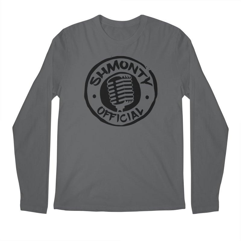 Shmonty Official Dark Logo Men's Regular Longsleeve T-Shirt by Shmonty Official Gear
