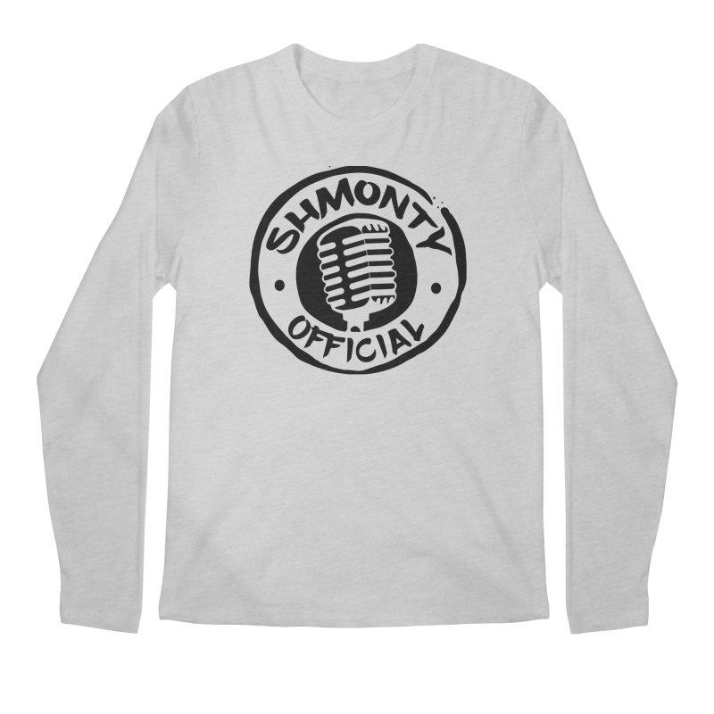 Shmonty Official Dark Logo Men's Longsleeve T-Shirt by Shmonty Official Gear