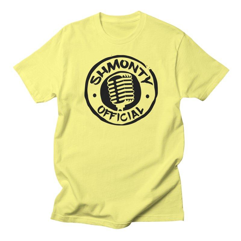 Shmonty Official Dark Logo Men's Regular T-Shirt by Shmonty Official Gear