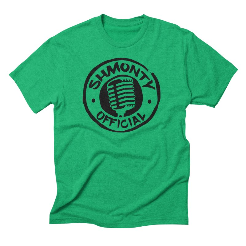 Shmonty Official Dark Logo Men's Triblend T-Shirt by Shmonty Official Gear