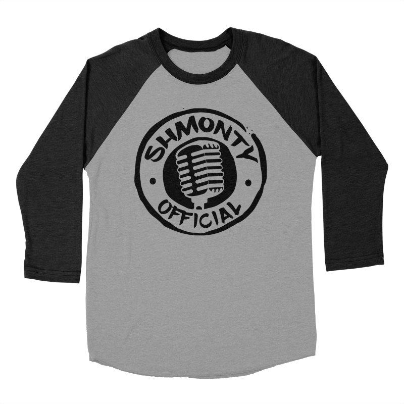 Shmonty Official Dark Logo Men's Baseball Triblend Longsleeve T-Shirt by Shmonty Official Gear