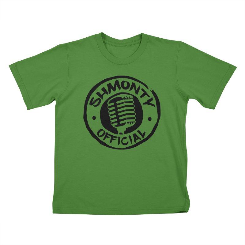Shmonty Official Dark Logo Kids T-Shirt by Shmonty Official Gear
