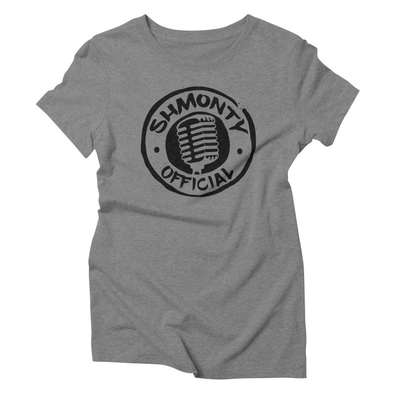 Shmonty Official Dark Logo Women's Triblend T-Shirt by Shmonty Official Gear