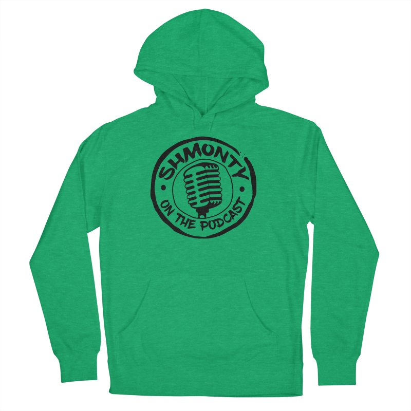 Shmonty on The Podcast Dark Logo Women's Pullover Hoody by Shmonty Official Gear