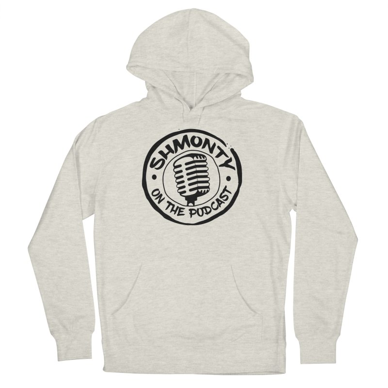 Shmonty on The Podcast Dark Logo Men's Pullover Hoody by Shmonty Official Gear