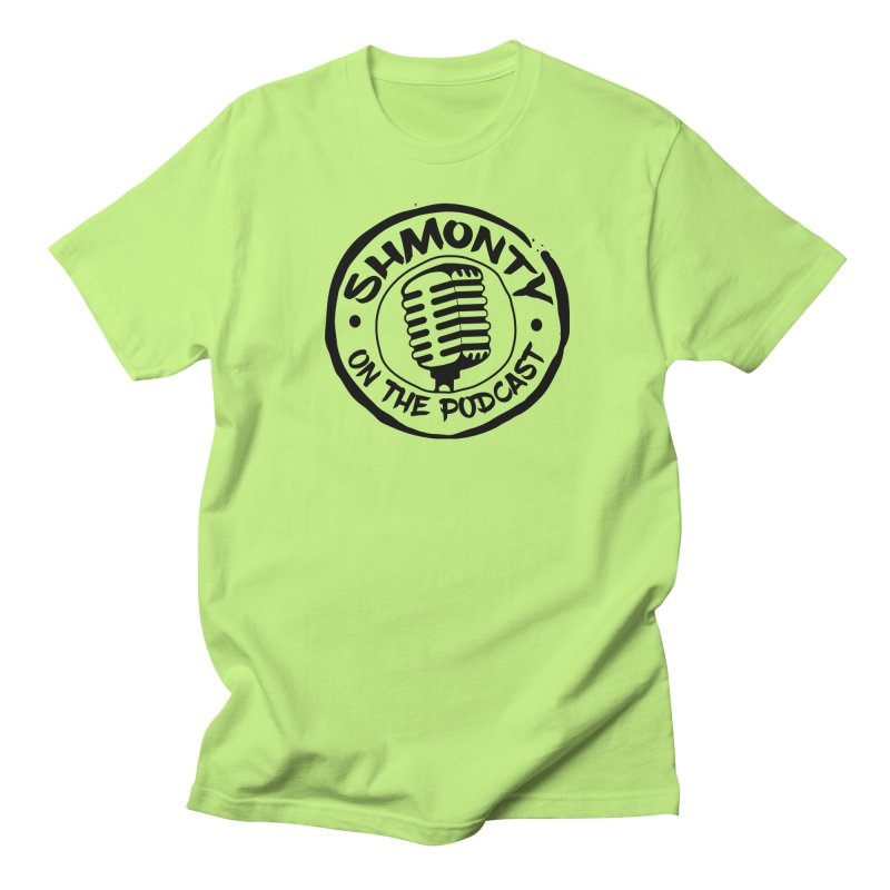 Shmonty on The Podcast Dark Logo Women's Unisex T-Shirt by Shmonty Official Gear