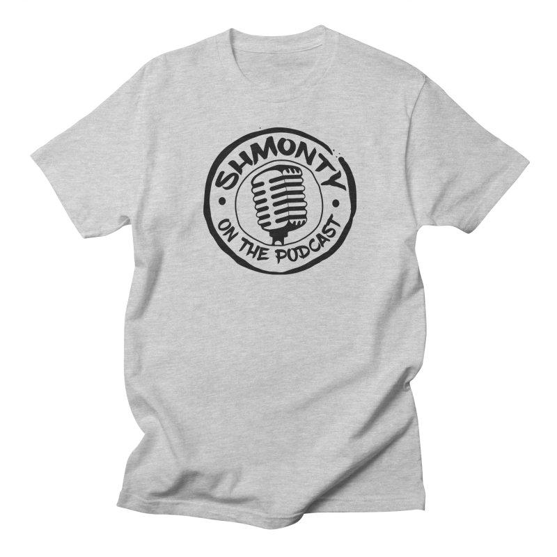Shmonty on The Podcast Dark Logo Men's Regular T-Shirt by Shmonty Official Gear