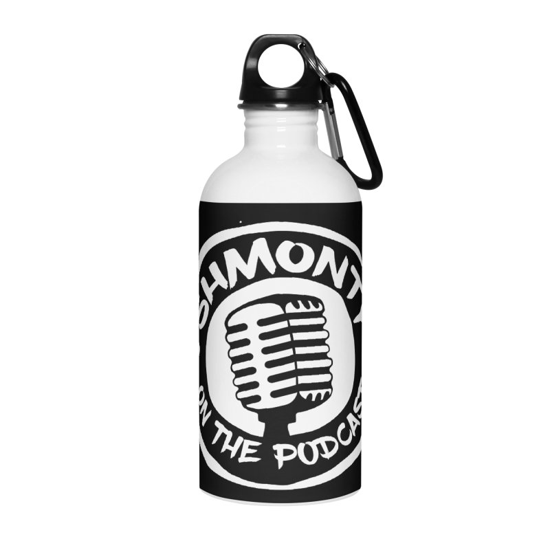 Shmonty on the Podcast Light Logo Accessories Water Bottle by Shmonty Official Gear