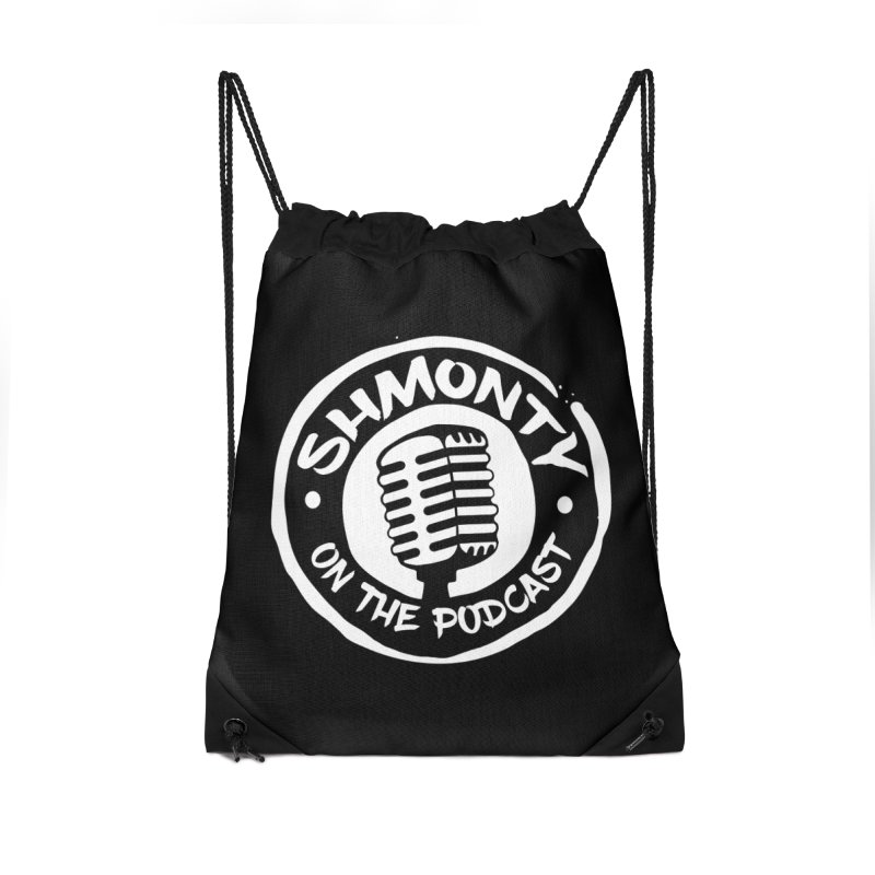Shmonty on the Podcast Light Logo Accessories Bag by Shmonty Official Gear