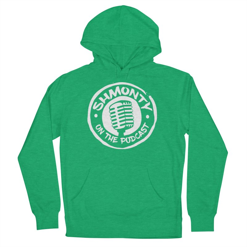 Shmonty on the Podcast Light Logo Women's French Terry Pullover Hoody by Shmonty Official Gear