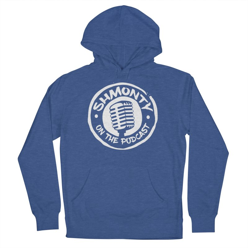 Shmonty on the Podcast Light Logo Men's French Terry Pullover Hoody by Shmonty Official Gear