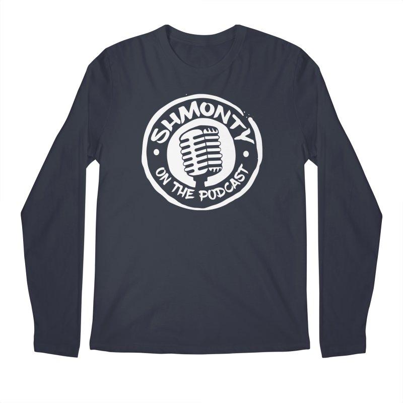 Shmonty on the Podcast Light Logo Men's Longsleeve T-Shirt by Shmonty Official Gear