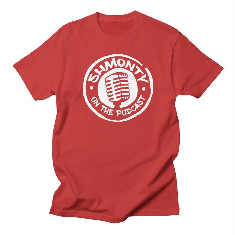 Shmonty on the Podcast Light Logo Men's T-Shirt by Shmonty Official Gear