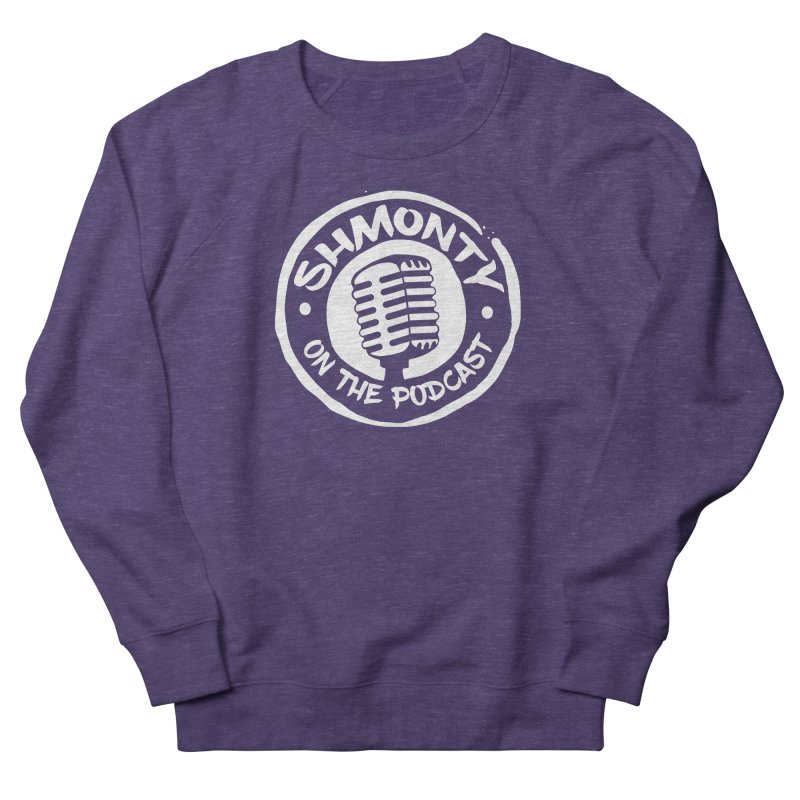 Shmonty on the Podcast Light Logo Men's French Terry Sweatshirt by Shmonty Official Gear