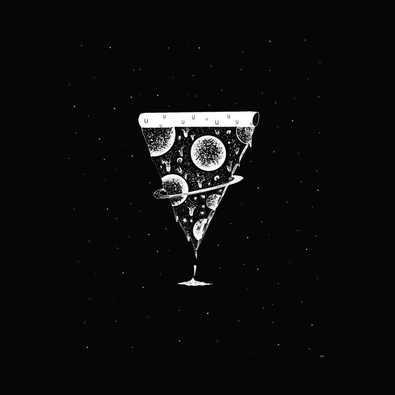 Galaxy pizza by shoosh Men's T-Shirt by Shoosh