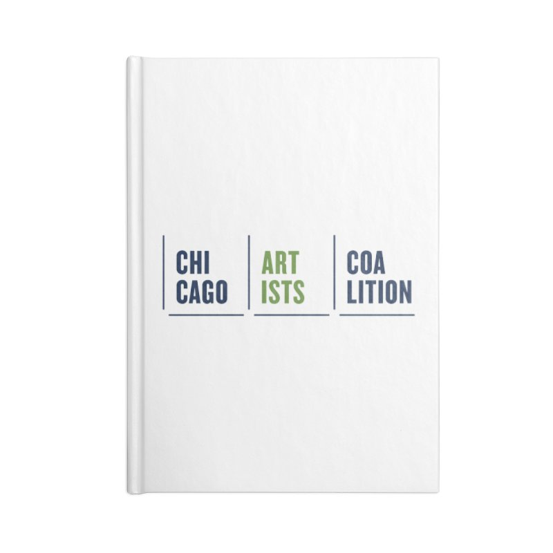 CAC logo horizontal Accessories Blank Journal Notebook by Shop CAC