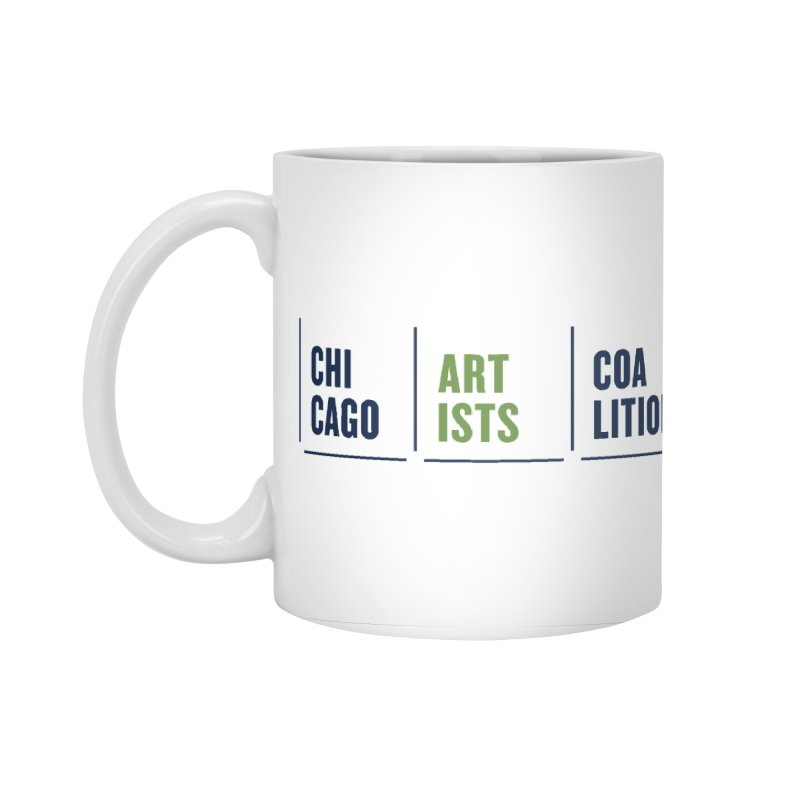 CAC logo horizontal Accessories Mug by Shop CAC