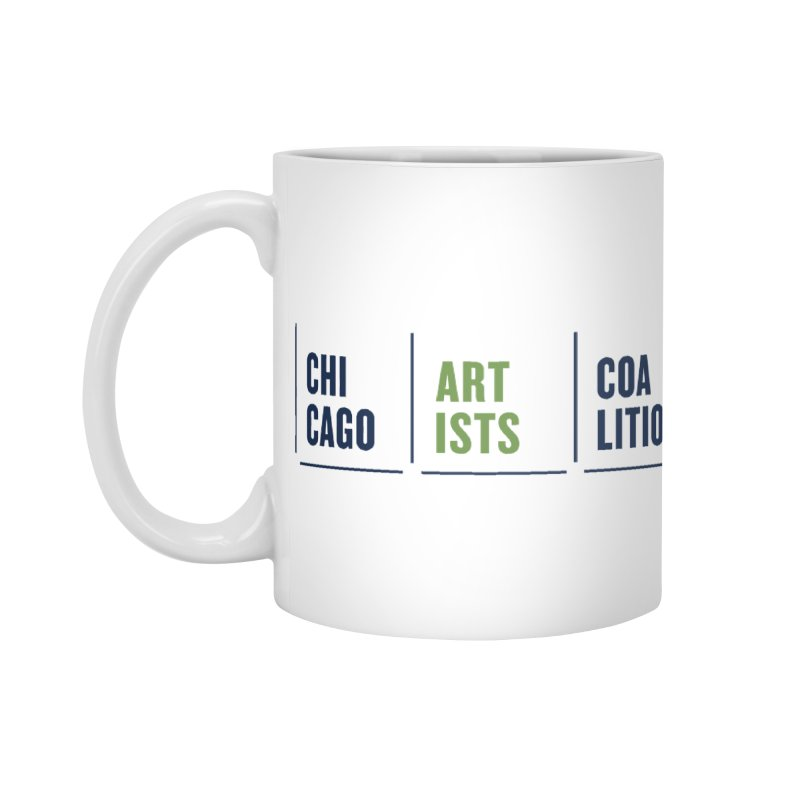 CAC logo horizontal in Standard Mug White by Shop CAC