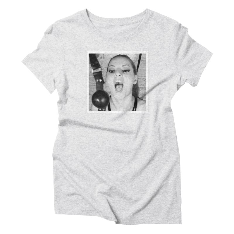 Say Aah Women's Triblend T-Shirt by