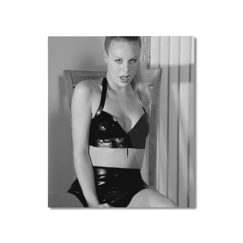 Latex Lust Home Mounted Aluminum Print by