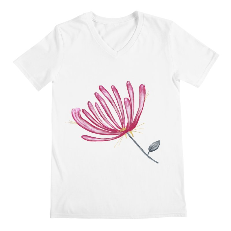 flower Men's V-Neck by Sigart's Shop