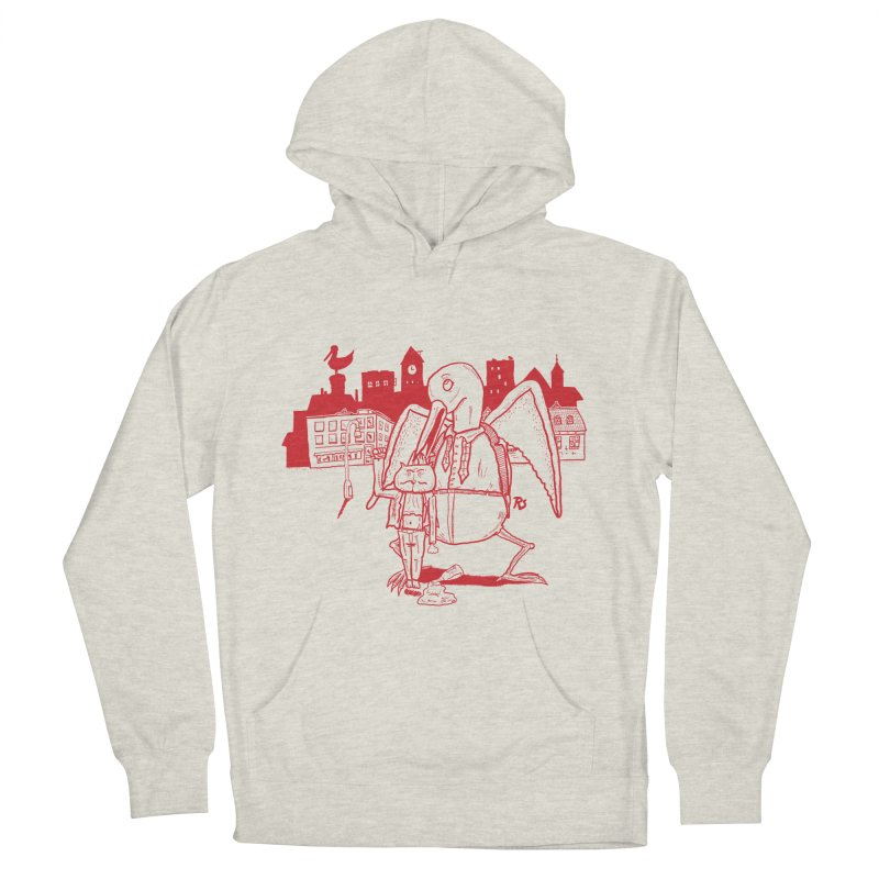 The night out (RED) Men's Pullover Hoody by Sigart's Shop