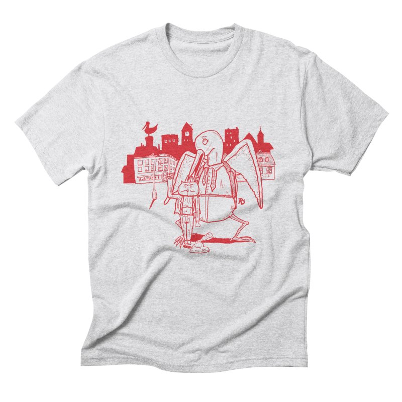 The night out (RED) Men's Triblend T-shirt by Sigart's Shop