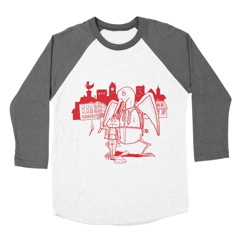 The night out (RED) Men's Baseball Triblend T-Shirt by Sigart's Shop