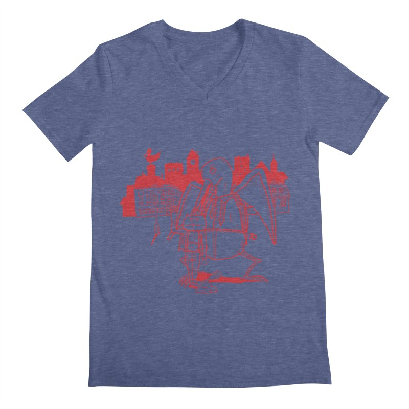 The night out (RED) Men's V-Neck by Sigart's Shop