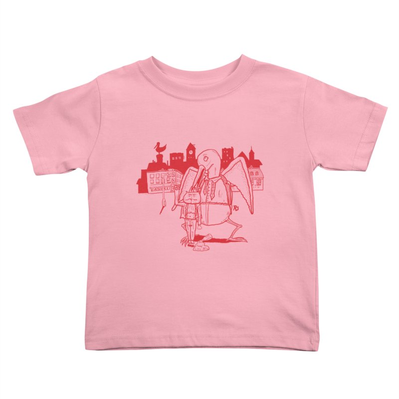The night out (RED) Kids Toddler T-Shirt by Sigart's Shop