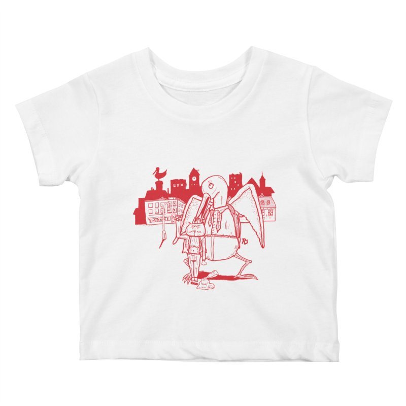 The night out (RED) Kids Baby T-Shirt by Sigart's Shop