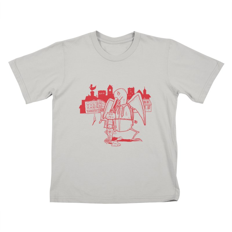 The night out (RED) Kids T-shirt by Sigart's Shop