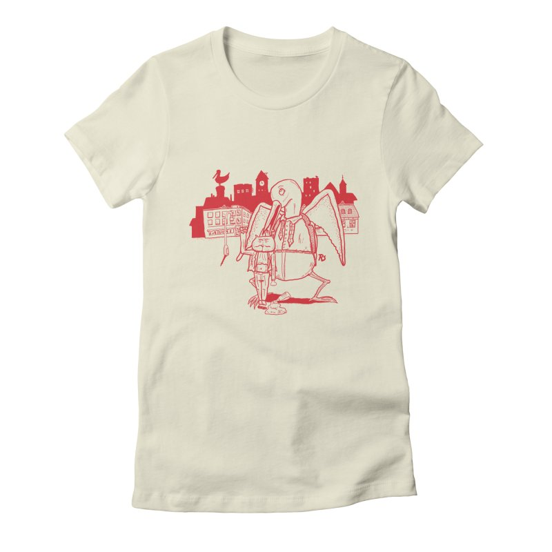 The night out (RED) Women's Fitted T-Shirt by Sigart's Shop