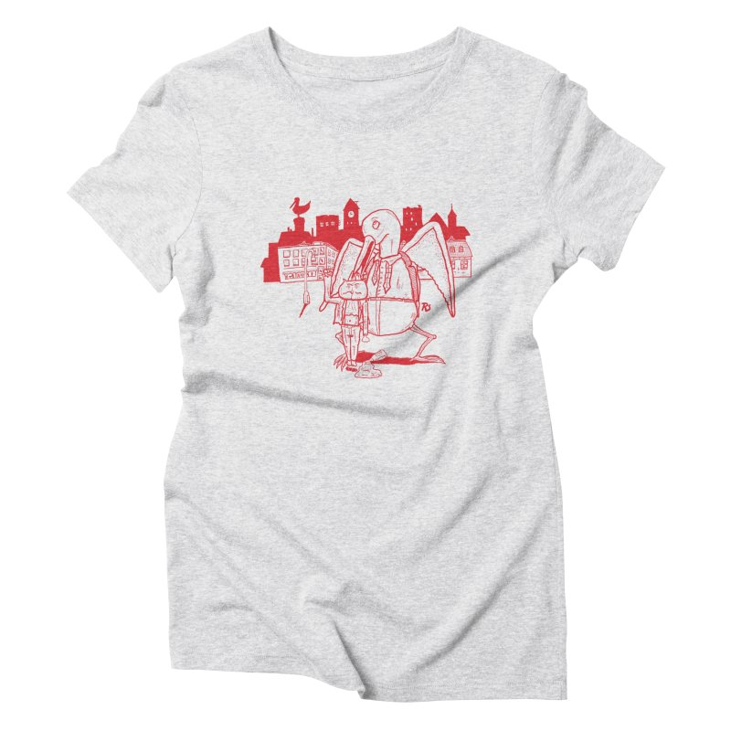 The night out (RED) Women's Triblend T-Shirt by Sigart's Shop
