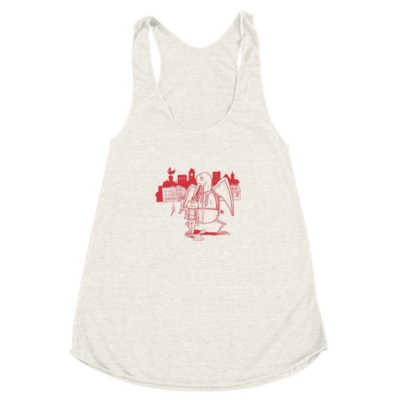 The night out (RED) Women's Racerback Triblend Tank by Sigart's Shop